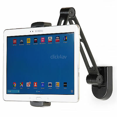 Wall Or Under Cabinet Mount Bracket IPad/Mini IPhone Tablet Desk Stand PAD2802 • 17.95£