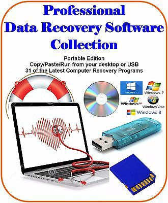 Ultimate Data Recovery Software Collection Easy Use Portable Computer Must Have • 2.85£