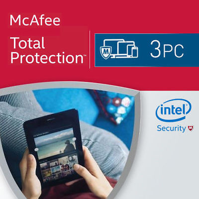 McAfee Total Protection 2020 / 3 Device/ 1Year Licence • 10.49£