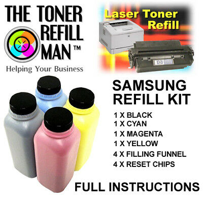 Toner Refill Kit For Use In Samsung Xpress SL-C460FW Printers Type CLT-P406S • 47.60£