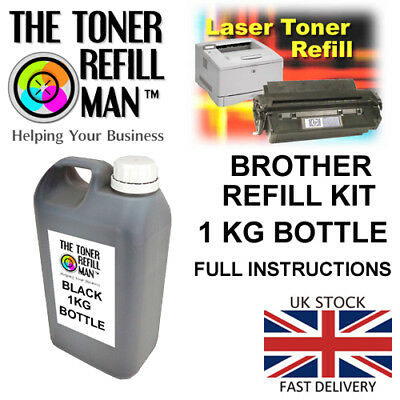 Toner Refill - For Use In The Brother MFC-7360N Printer TN-2210 1KG REFILL KIT • 27.65£