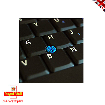 5 X New Blue Trackpoint Rubber Cap Nipple For Dell / Toshiba 3mm Square Post • 2.95£