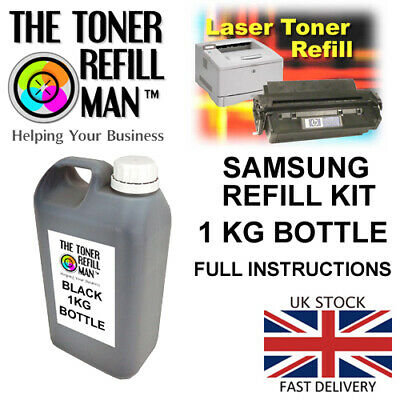 Toner Refill Kit For Use In Samsung MLT-D101S, MLT-D101S/ELS, SU696A 2 X Pouches • 27.65£