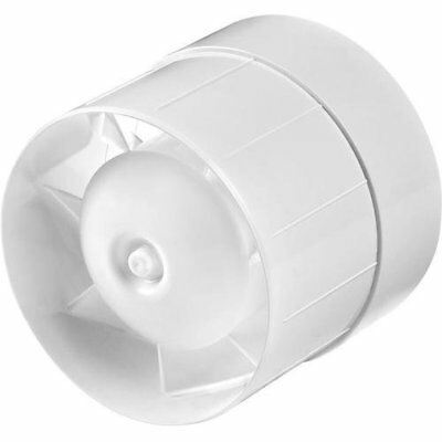 Inline Extractor Fan 125mm With Timer Duct Pipe / Hose Ventilator • 21.99£