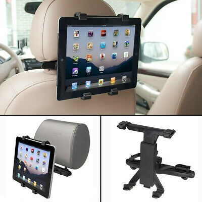 Universal Headrest Seat Car Holder Mount For 7 -10  Inch Screen IPad / Tablet • 5.89£