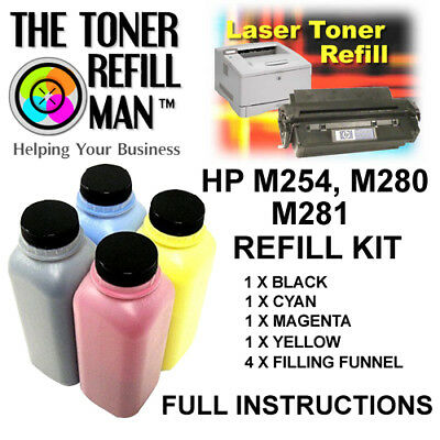 Toner Refill Kit For Use In HP Colour LaserJet M254dw,M254nw,HP203A HP203X • 28.60£