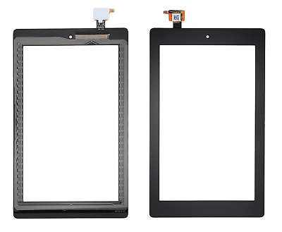 New Amazon Fire 7  2017 SR043KL 7th Gen Touch Screen Digitizer Front Glass Lens • 7.95£