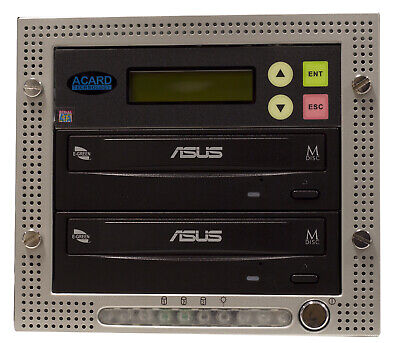 Acard 1 To 1 CD/DVD Copier Duplicator Standalone Tower System With Asus Drives • 160£