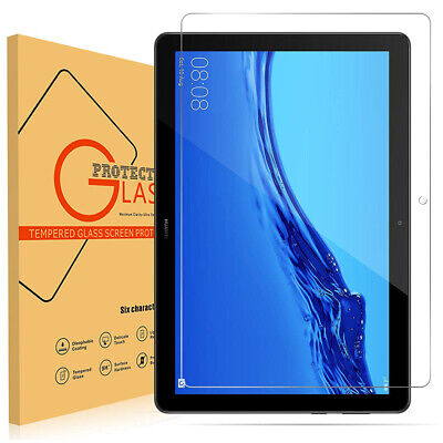 Huawei MediaPad T5 10.1 (inch) Tablet Shockproof Tempered Glass Screen Protector • 4.99£
