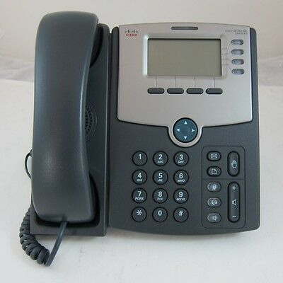 Cisco SPA504G VoIP Phone - 4 Lines - POE - 12 Months Warranty - Unlocked • 28.99£