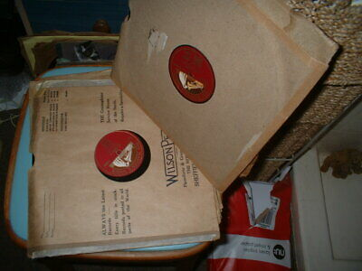 78rpm Discs By Paul Robeson-set Of Seven • 8.75£