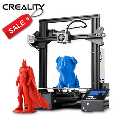 Used Creality Ender 3 3D Printer 220X220X250mm 1.75mm PLA Black Friday Sales • 132.99£