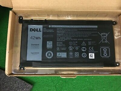 New Genuine Dell Inspiron 13 5368 5378 7368 7378 42wh Battery Wdx0r 3crh3 Fc92n • 49.50£