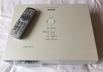 Sanyo PLC-WXU700A LCD Projector (first Original Lamp - Only 230hrs) *REDUCED • 319.99£