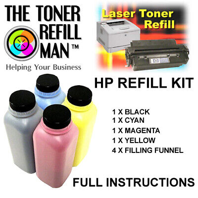 Toner Refill Kit For Use In HP Colour LaserJet Pro M154A,M154NW,M180, 204A, 205A • 30.60£