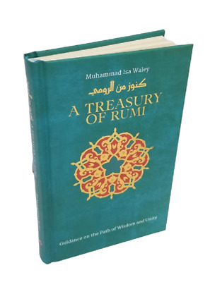 A Treasury Of RUMI: Guidance On The Path Of Wisdom & Unity (Hardback) • 7.99£