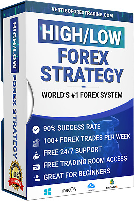 FOREX: Amazing High/Low Forex Trading System *BUY ONE GET ONE FREE* • 89.91£