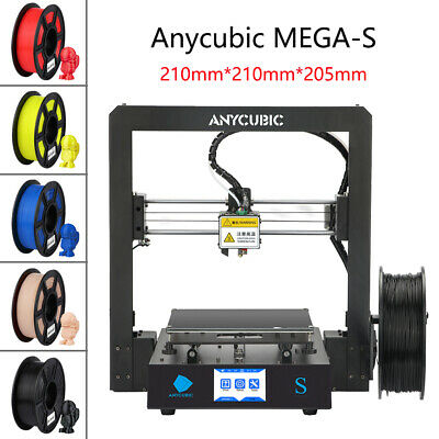 ANYCUBIC I3 MEGA S 3D Printer Pre-assembled W/ Ultrabase Heatbed + Free 10m PLA • 229£