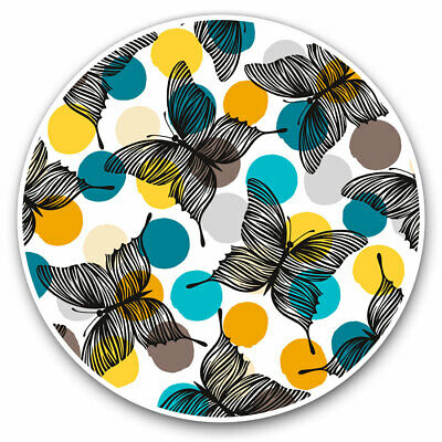 2 X Vinyl Stickers 30cm - Pretty Butterflys Art Insects Animals Cool Gift #841 • 8.99£