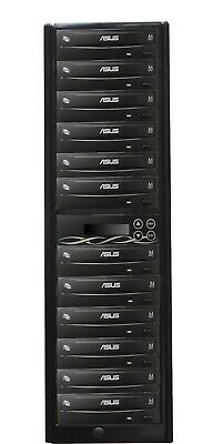 EZ Dupe 1 To 11 CD/DVD Copier Duplicator Standalone Tower System Asus Drives • 490£