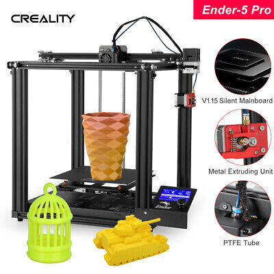 Creality Ender 5 Pro 3D Printer Silent Motherboard Dual Y-axis 220X220X300mm • 399.99£