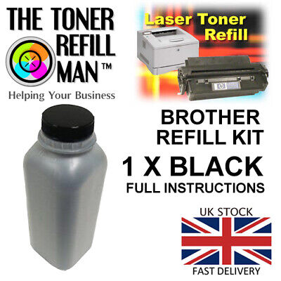 Compatible Brother Toner Powder For Use In Brother Printers 200g Refill Kit T1 • 16.85£