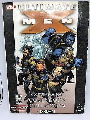 PC MAC CD ROM Ultimate XMen Marvel Complete Comic Book Collection  • 4.95£
