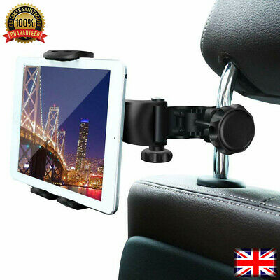Universal Car Back Seat Headrest Mount Tablet Holder For IPad IPhone Samsung GPS • 7.99£