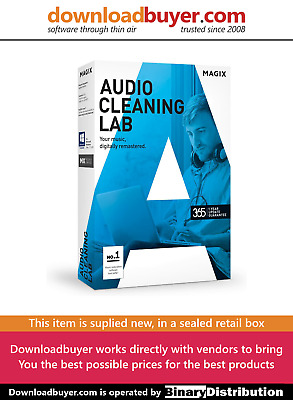 MAGIX Audio Cleaning Lab 2017 - [Boxed] • 12.99£