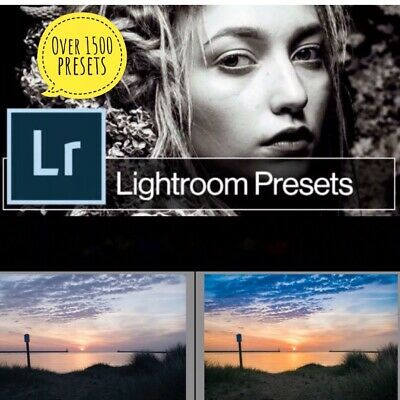 1500 Photo Presets For Lightroom - Fast Delivery - Get Yours Today!!! 600 Sold!! • 4.99£