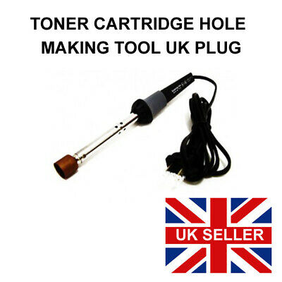 Hole Making Tool. Toner Refill Tool For Melting Refilling Holes Soldering Iron • 12.95£