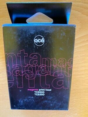 OCE TCS500 / TCS300 Magenta Print Head Genuine OEM Sealed • 59.50£