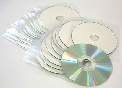 Printable DVD-R Recordable Blank DVD Discs To Print In Sleeves 4.7GB 120 Min 16x • 4.49£