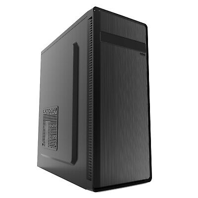 PC COMPUTER CASE M-ATX OFFICE  DESKTOP TOWER GAMING  CASE USB 3 - IONZ KZ11  • 18.95£