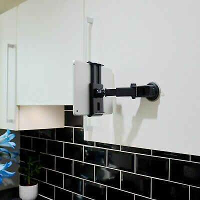 Sticky Suction Cup Kitchen Cabinet Tablet Mount Holder For Apple IPad Mini Air • 8.50£