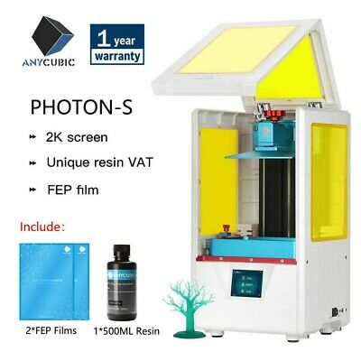 2020 New ANYCUBIC Photon-S 3D Printer 405nm Matrix UV Module *UK STOCK* • 329.99£