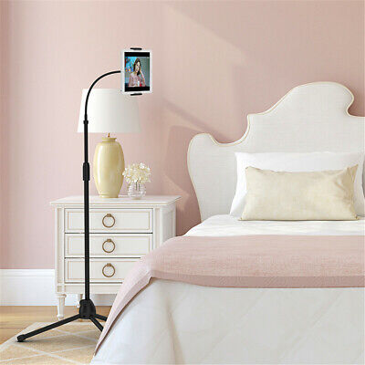 Adjustable Gooseneck Floor Stand Compatible With IPad/Tablet/Phone Mount Holder • 21.99£