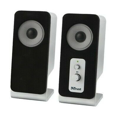 Trust SoundForce Compact Speaker 5 Watt RMS For PC/Laptop New/Sealed *Free P&P* • 9.99£