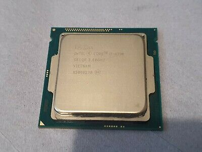 Intel Core I7-4790 3.6 GHz WITH COOLER • 77£