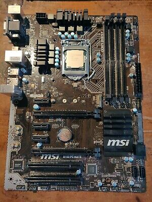 G3930 & MSI B150 PC Mate CPU And Motherboard Combo • 35£