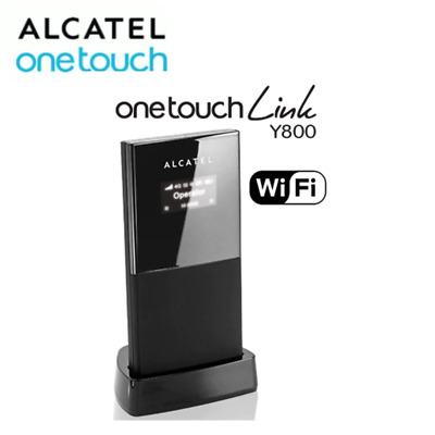 UNLOCKED Alcatel Y800z 4G LTE Mobile Broadband Wi-Fi Router With Charger & Dock • 31.99£