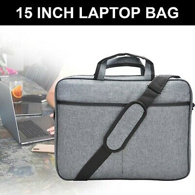 15 Inch Business Laptop PC Shoulder Bag Carrying Soft  Notebook Case Cover UK • 9.39£