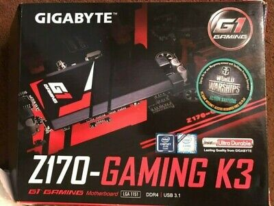 Gigabyte Z170 Gaming K3 Motherboard Working • 50£