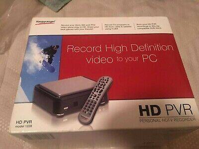 Hauppage HD PVR Game Capture RCA Y Pb Pr Component Input - Boxed And Complete • 45£