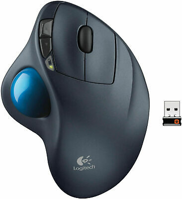 Logitech M570 Wireless Trackball Laser Track Cordless Mouse Mac Windows  • 29.99£
