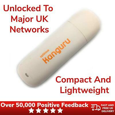 4G Mobile Broadband Dongle Huawei E3276 Wireless LTE Category 4 Surfstick White • 19.99£