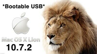 Mac OS X 10.7.2 Lion Install USB Bootable USB, Recover, Upgrade, Reinstall • 13.20£