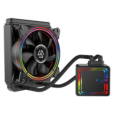 CPU Cooler 120mm AiO Water Cooling RGB.Liquid - IONZ Alseye - Fits Intel And AMD • 37.95£