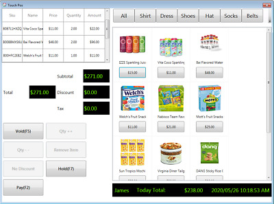 Inventory Control Stock Management Software PoS Barcode Label Lifetime User • 9.99£