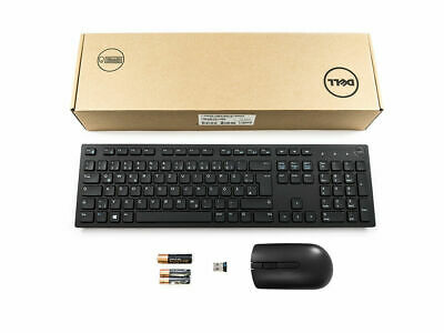 DELL Wireless Cordless Keyboard And Mouse Set  KM636 German Deutsch • 19.99£